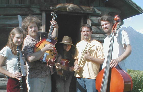 Jazz Farm. Hope, AK Folk Fest, 2002