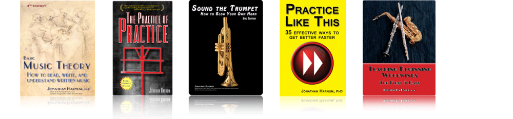 Learn how pros in many genres practice, learn to read music, play trumpet, and more. Sol Ut Press (www.sol-ut.com)