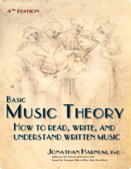 Basic Music Theory cover image. Click to get the Kindle book for 99 cents until 4/24.